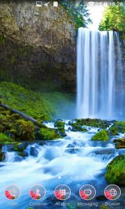 Waterfall Wallpaper Background Amazing Wallpapers Themes